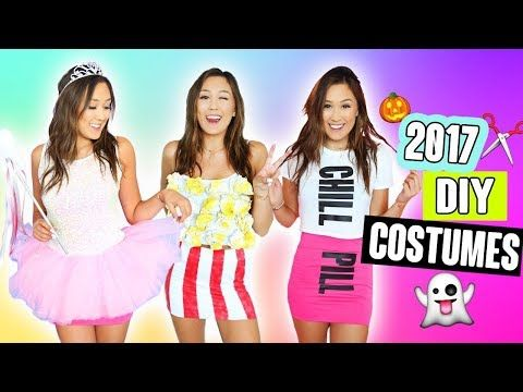 9e635ad5120 DIY HALLOWEEN COSTUMES 2017 - YouTube