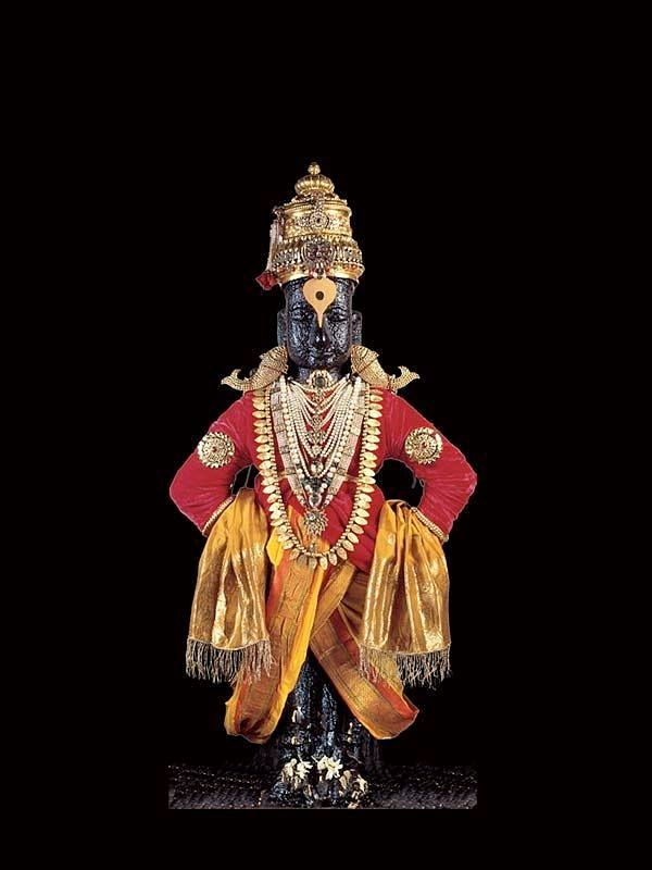 Lord Vithal Or Panduranga Vittala Is An Incarnation Of Lord Vishnu And Is Worshipped In The World Famous Panda Lord Vishnu Ganesh Lord Lord Ganesha Paintings God vitthal full hd wallpaper