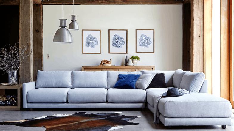 Hammar Fabric Modular Sofa | Domayne