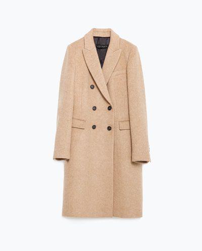 Manteau femme cachemire zara