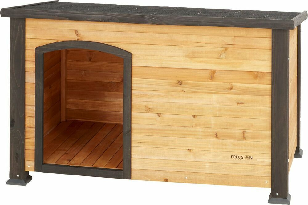 Precision Pet Products Extreme Outback Log Cabin Dog House Small
