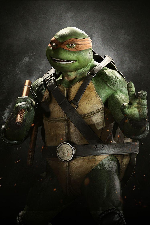 Teenage Mutant Ninja Turtles Michelangelo Pictures