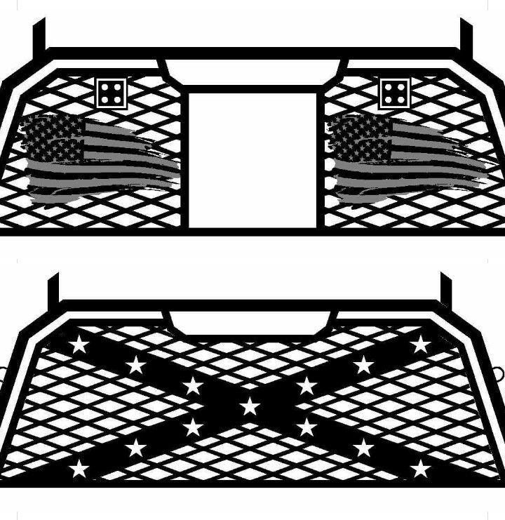 Custom headache rack with running lights and light bars truck custom headache rack with running lights and light bars aloadofball Choice Image