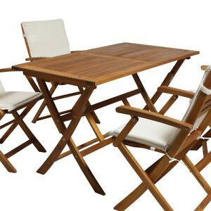 Details zu Gartentisch Tisch Klapptisch Esstisch Holztisch