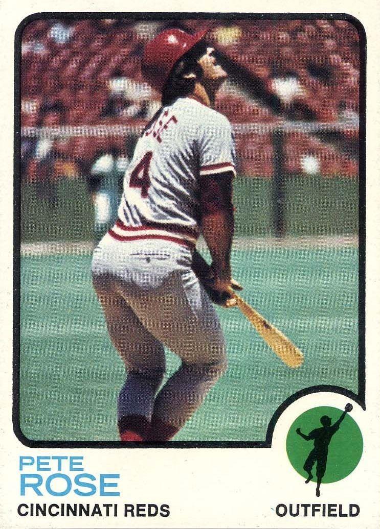 Rose (1973) Pete rose, Cincinnati reds, Cincinnati