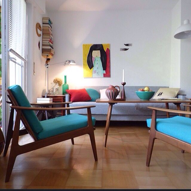 Danish Modern Living Room: Pin By Kasia Wencel On Salon