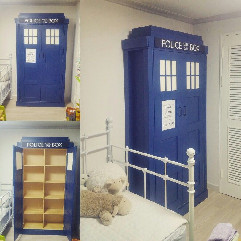 Police Box Bookcase
