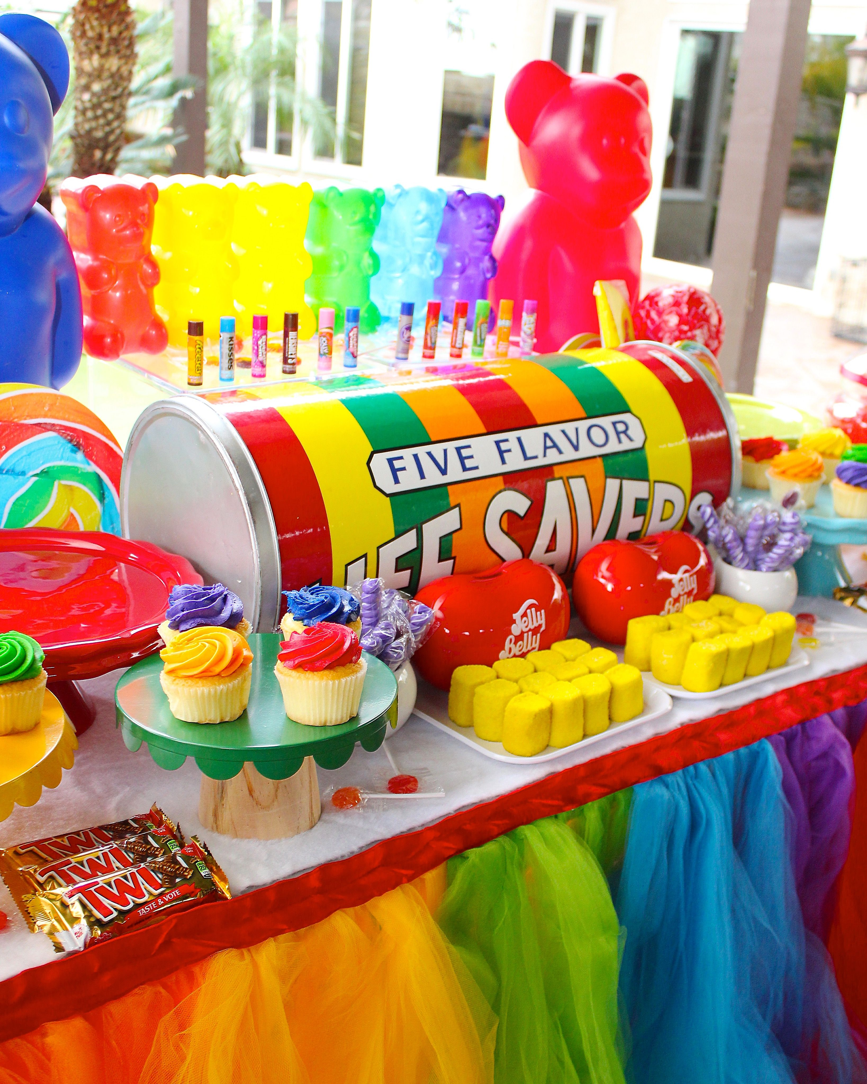 Candyland party | A todo color. | Pinterest