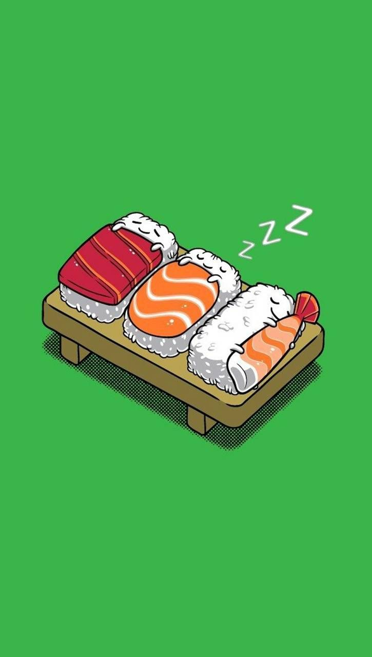 Sleeping Sushi wallpaper by Skate_boY - 0b - Free on ZEDGE™