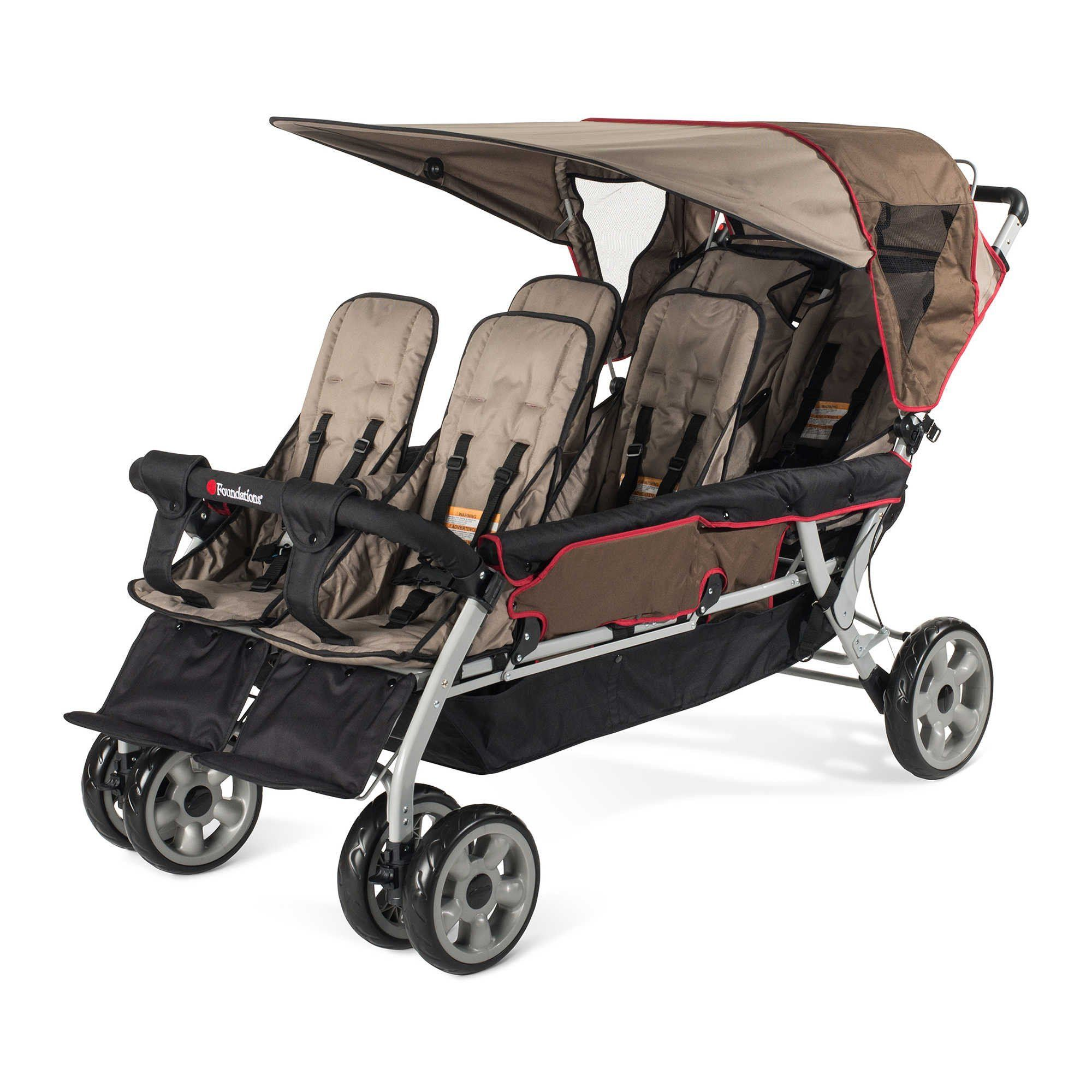 The LX6™ 6Passenger Stroller (Earthscape) Newborn