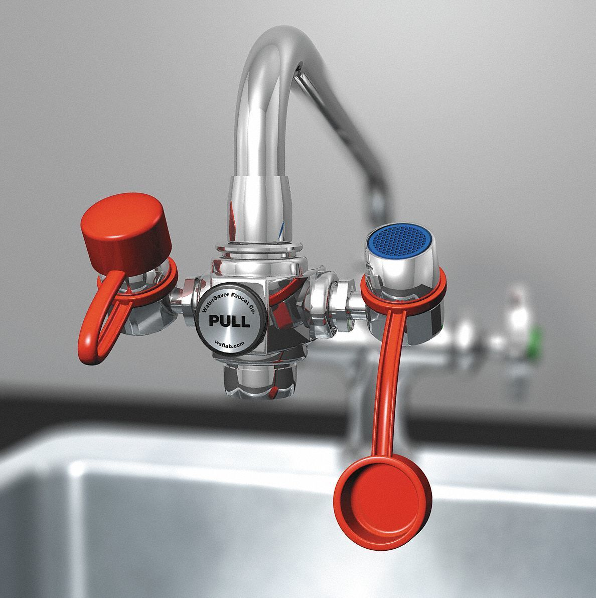 Faucet Eyewash Station   Faucet and House