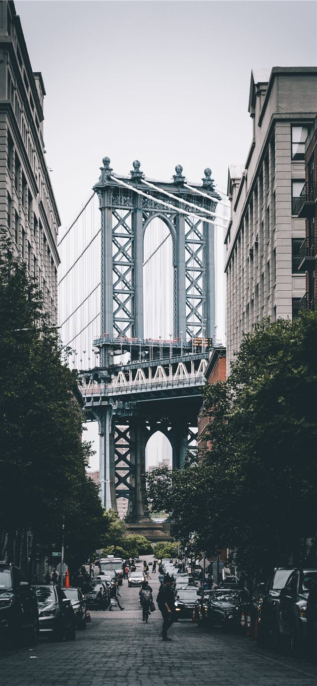 Dumbo Brooklyn United States iPhone X Wallpapers