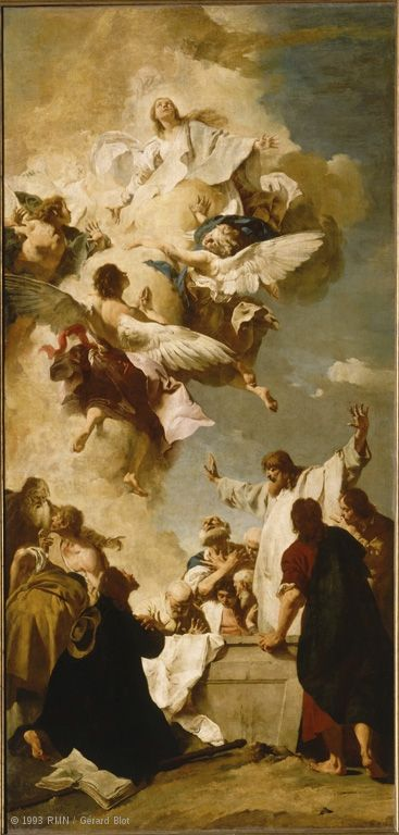 Paintings Louvre Museum Paris Arte Catolica Arte Assuncao