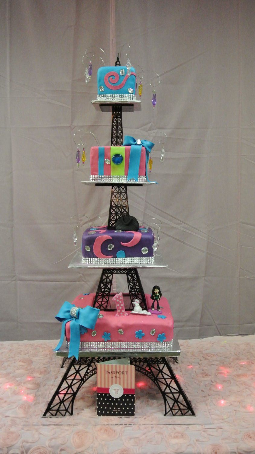40 multitier eiffel tower cake stand
