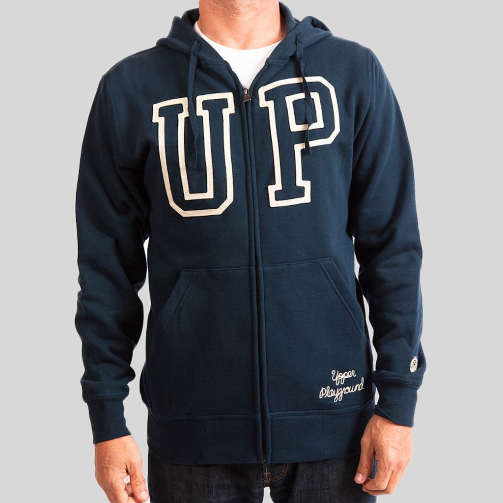 upper-playground - Outline UP Zip Hoodie #upperplayground @upperplayground #up #sf #warm #outline #hoodie