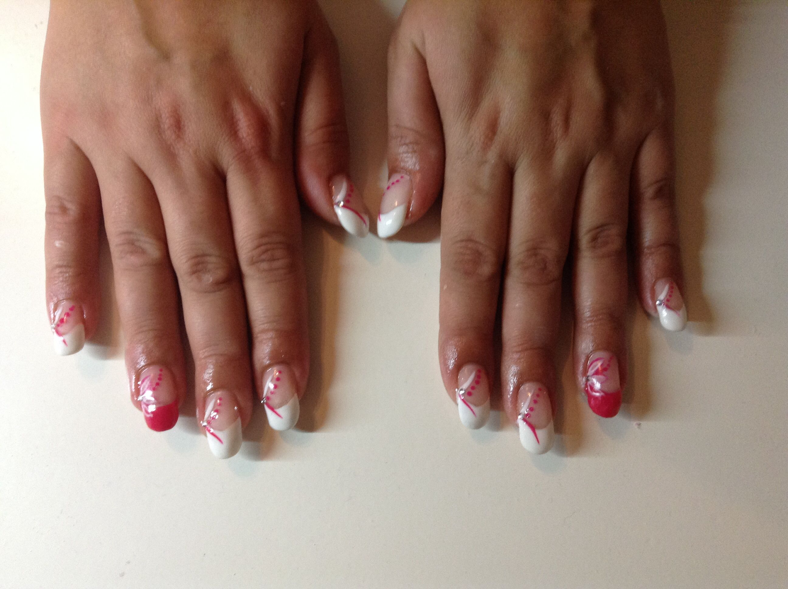 French manicure with katharina desires