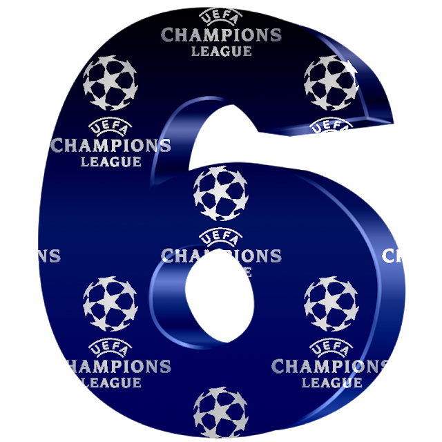 Monica Michielin Alfabetos Uefa Champions League Football Alphabet Letters And Numbers Png Champions League Football Champions League Uefa Champions League