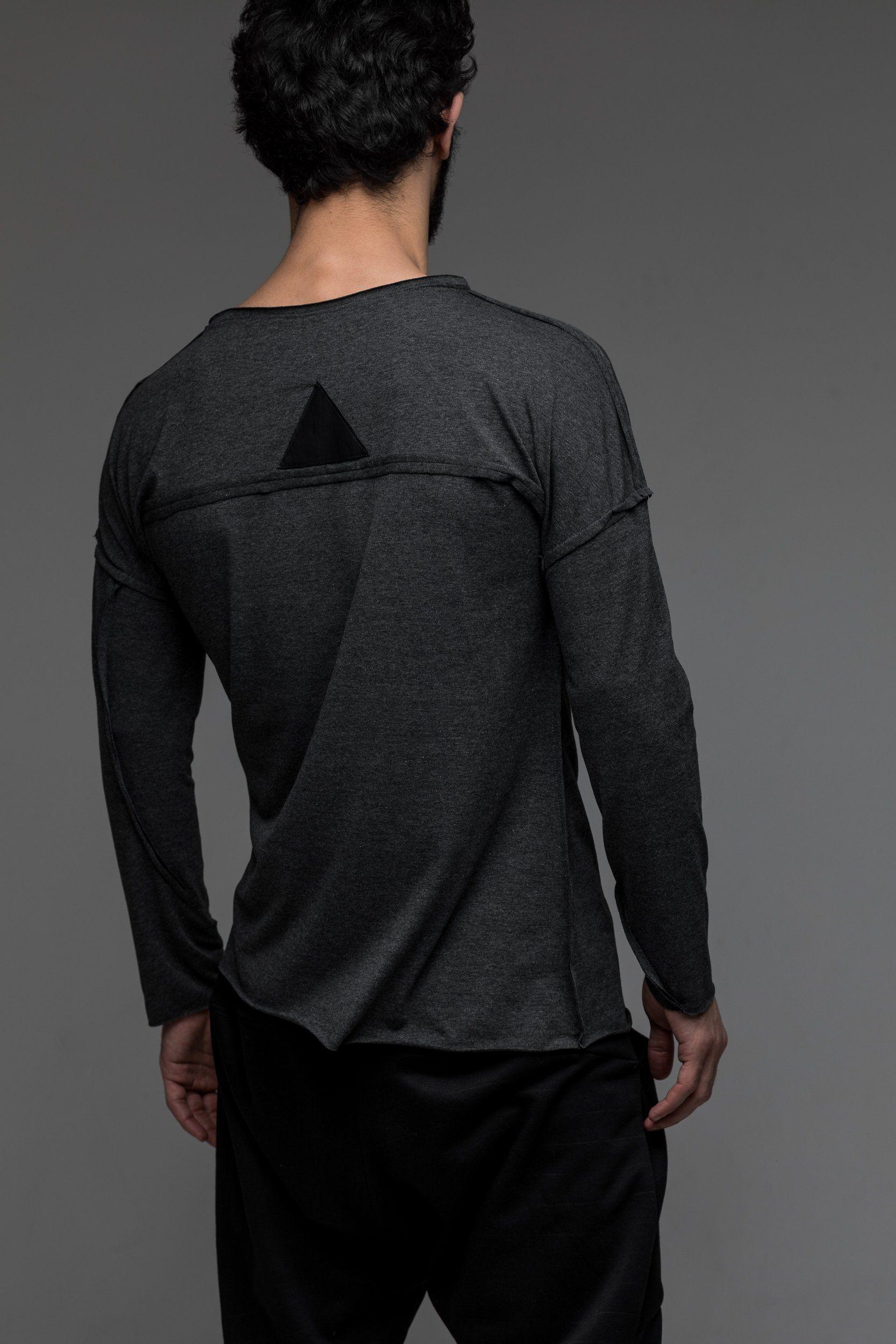 Grey loose lightweight shirt | Lightweight shirts, Cyber
