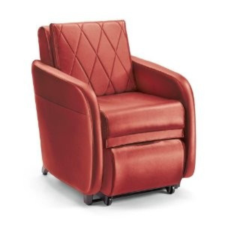 Brookstone OSIM uStyle2 Massage Chair in Sunset Red