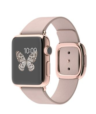 18K rose gold 38mm Apple Edition Watch