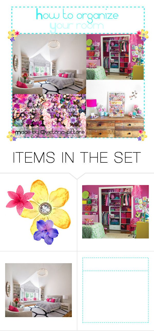 """""""How to organize your room"""" by victoria-pittore ❤ liked on Polyvore featuring art, bedroom, modern and tipswithv"""