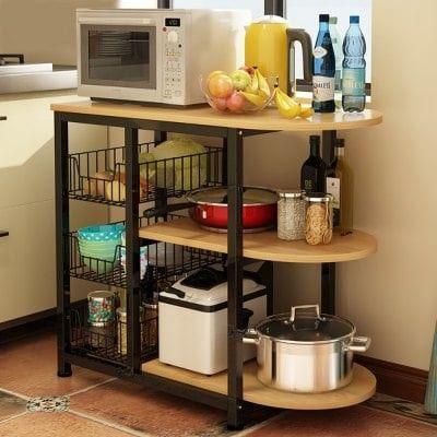 Kitchen Appliance Organizer Storage Rack Black Leg In 2019