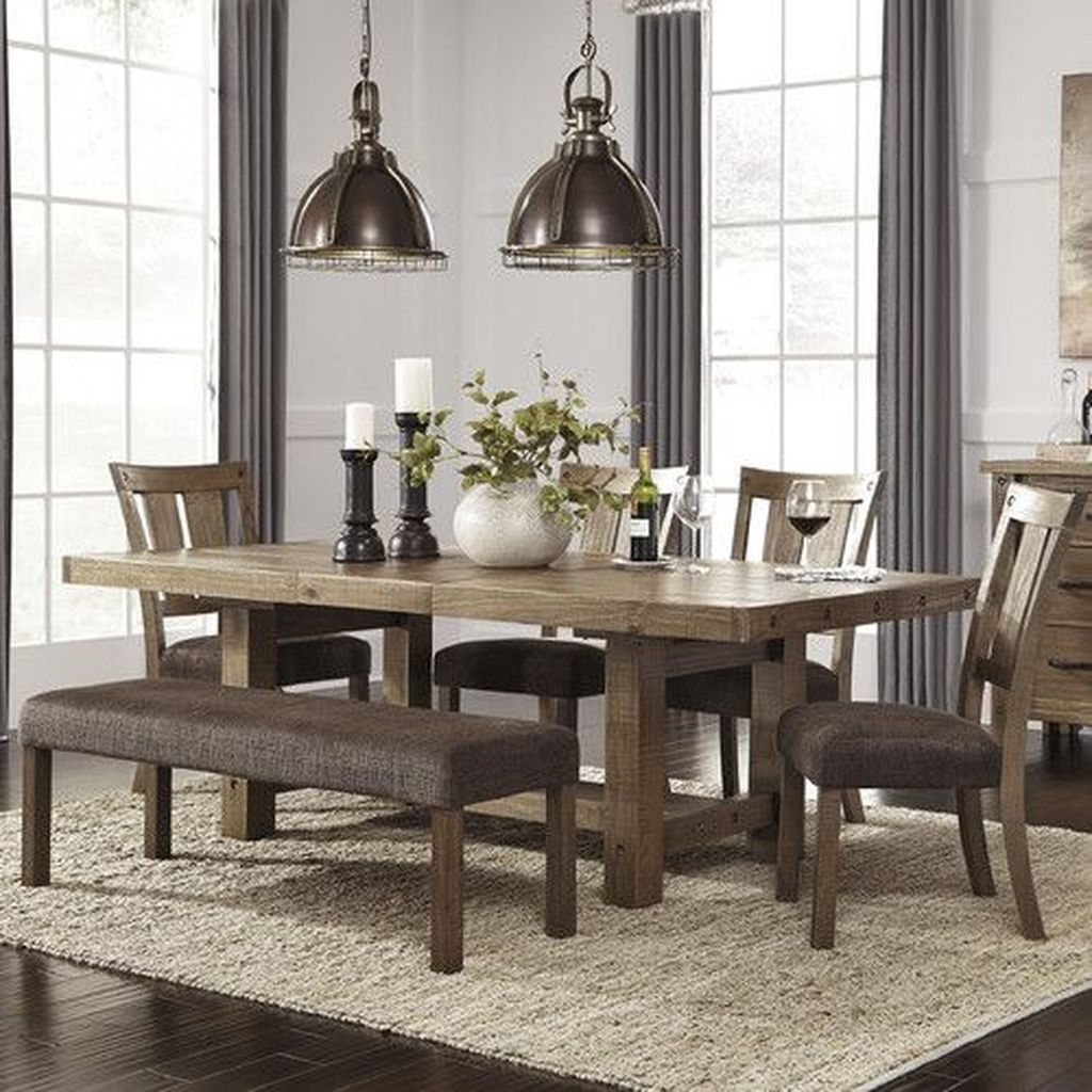 36 awesome extendable farmhouse table design ideas for
