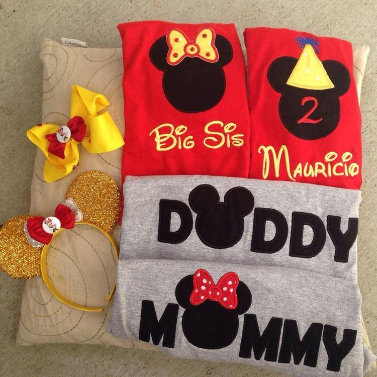 mickey mouse 2nd birthday outfit