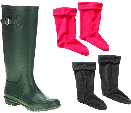c042080035c  Walmart  women boots  Walmart   Women s  Solid  Rain  Boots