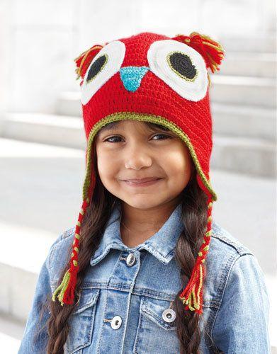 Katia Kid's Cap Owl 70 - www.wolwolf.be