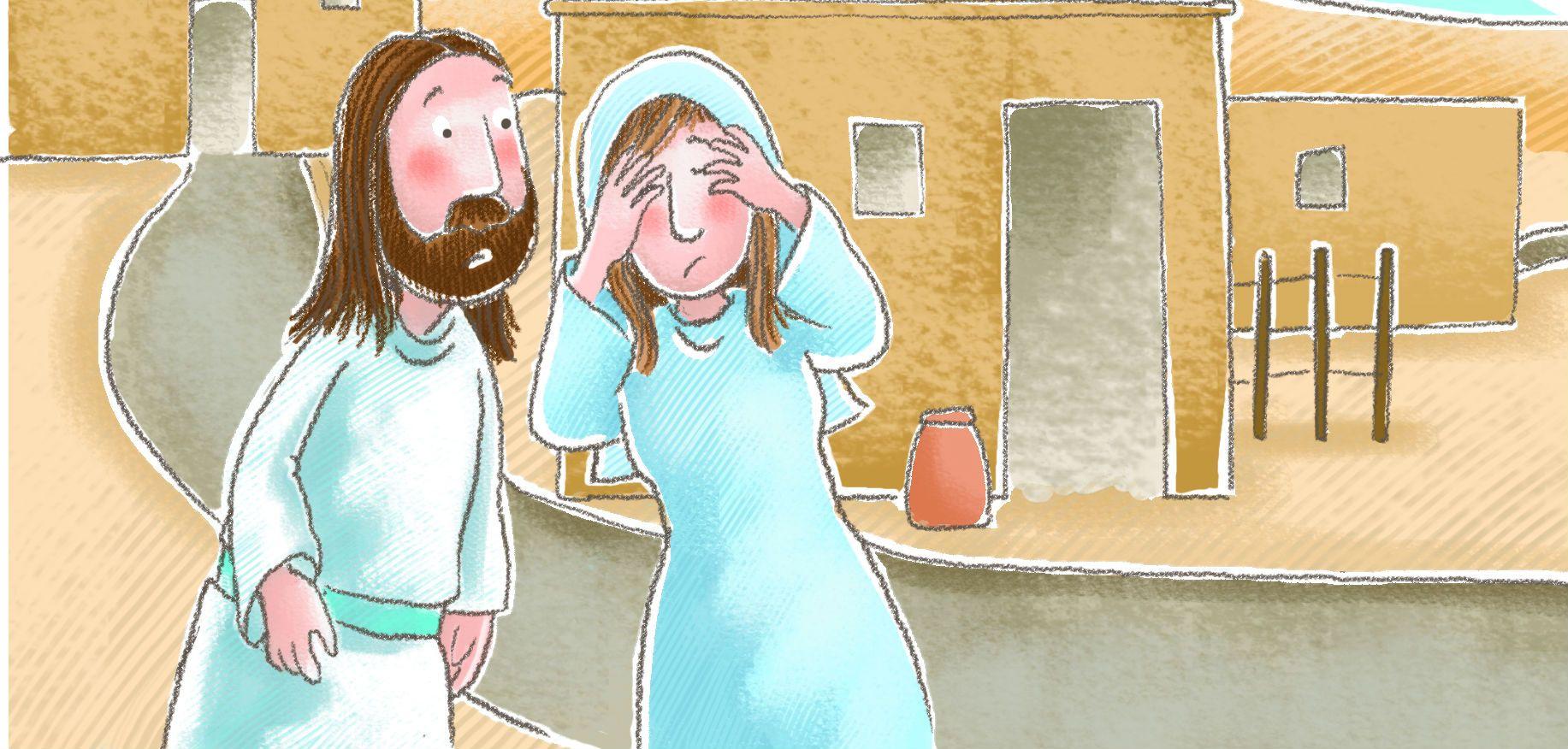 Sunday School Lesson Jesus Raises Lazarus From The Dead
