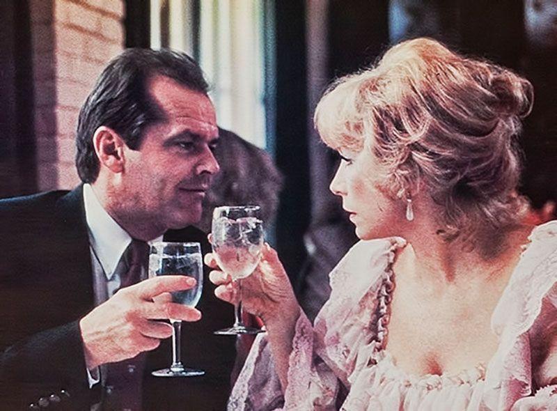 """Jack Nicholson y Shirley MacLaine en """"La fuerza..."""