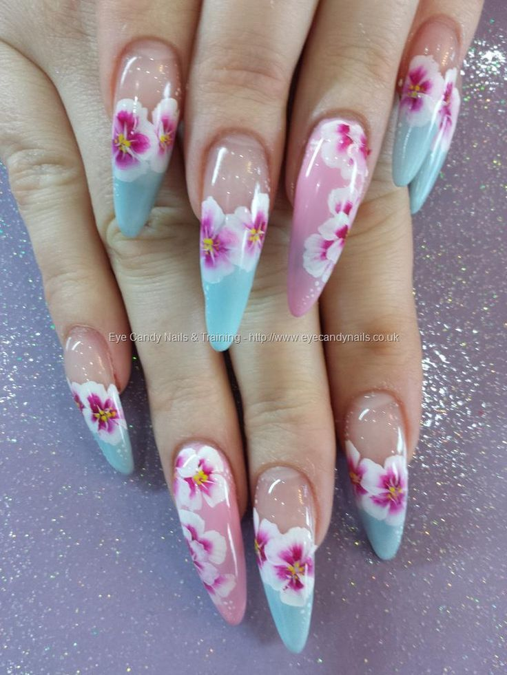 The Shape Of Nails Are Ugly See More Nail Designs At Httpwww