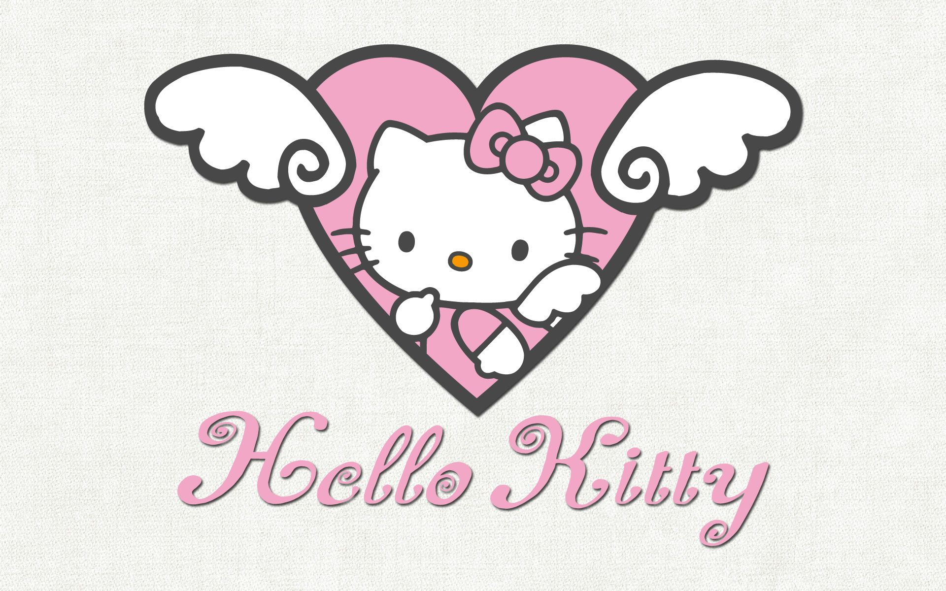 The cute little cat all in pink  Hello Kitty  Pinterest  Hello