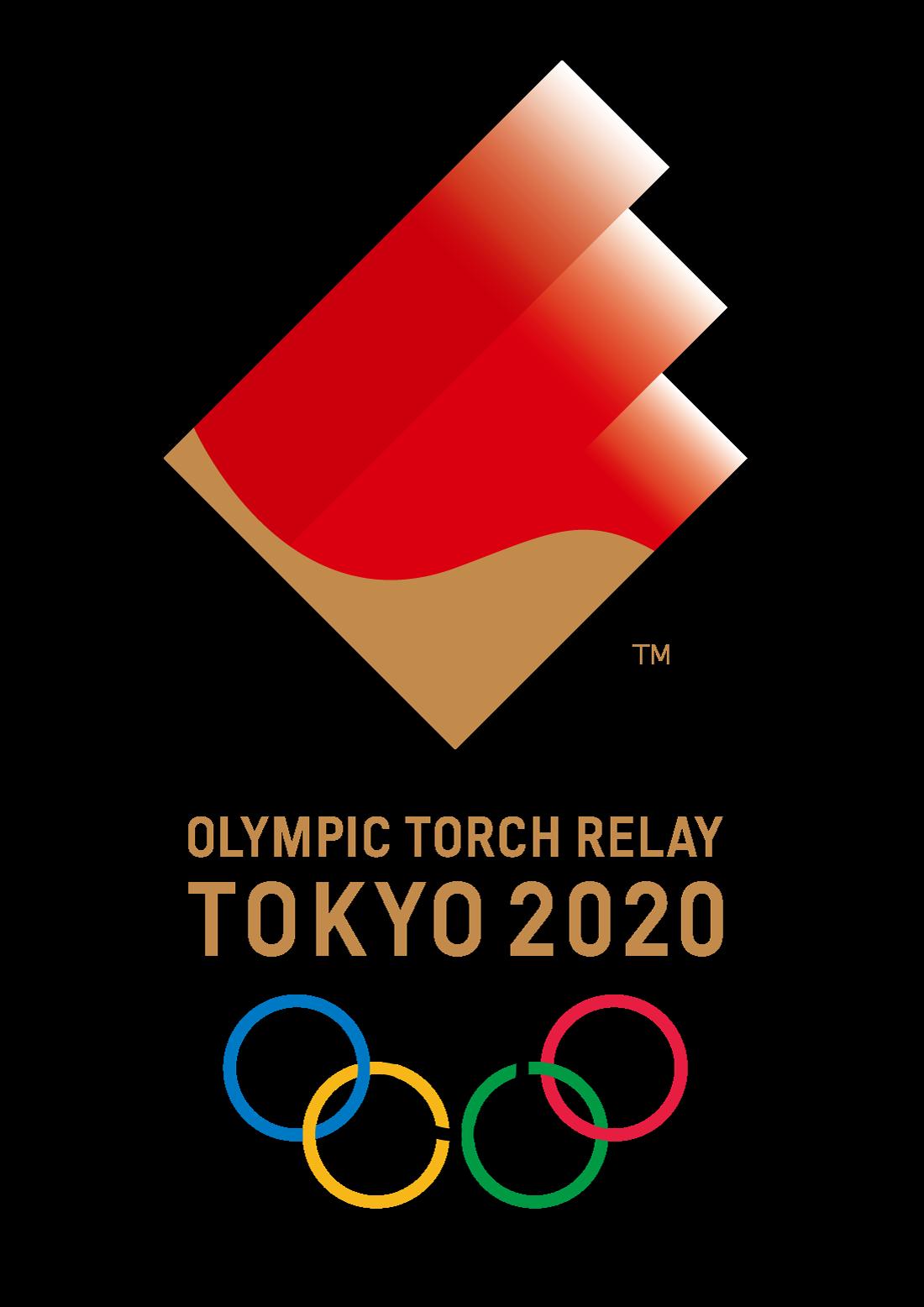 Tokyo 2020 Olympic Torch Relay brand design Tokyo 2020