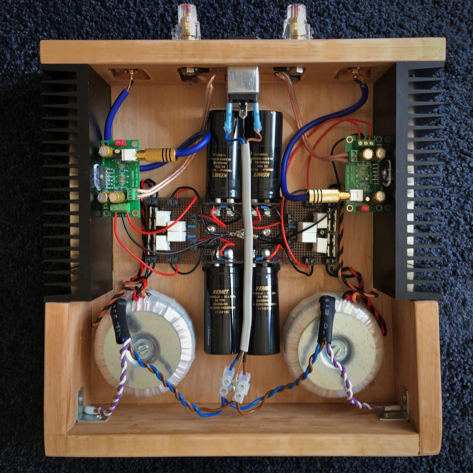 Dual Mono LM3886 Amplifier