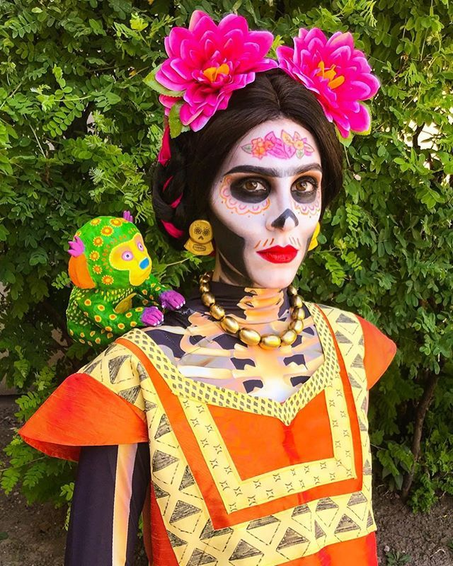 Pin En Diy Coco Costume Ideas