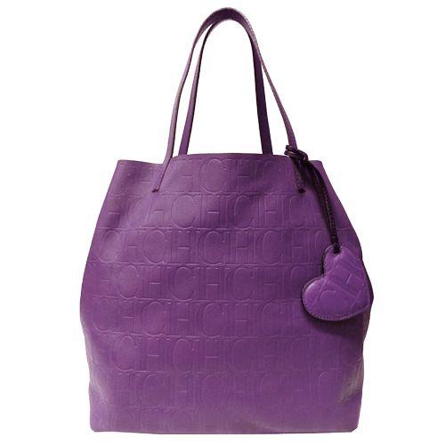 Carolina Herrera Leather Bag In Camel Please Purple Bags Purse My
