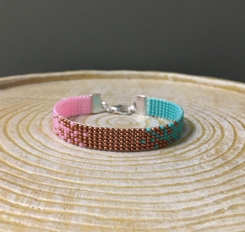 Ombre Woven Bracelet