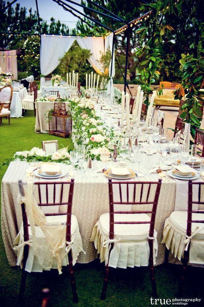 Long Tables Wedding Receptions Weddings Pinterest Vintage