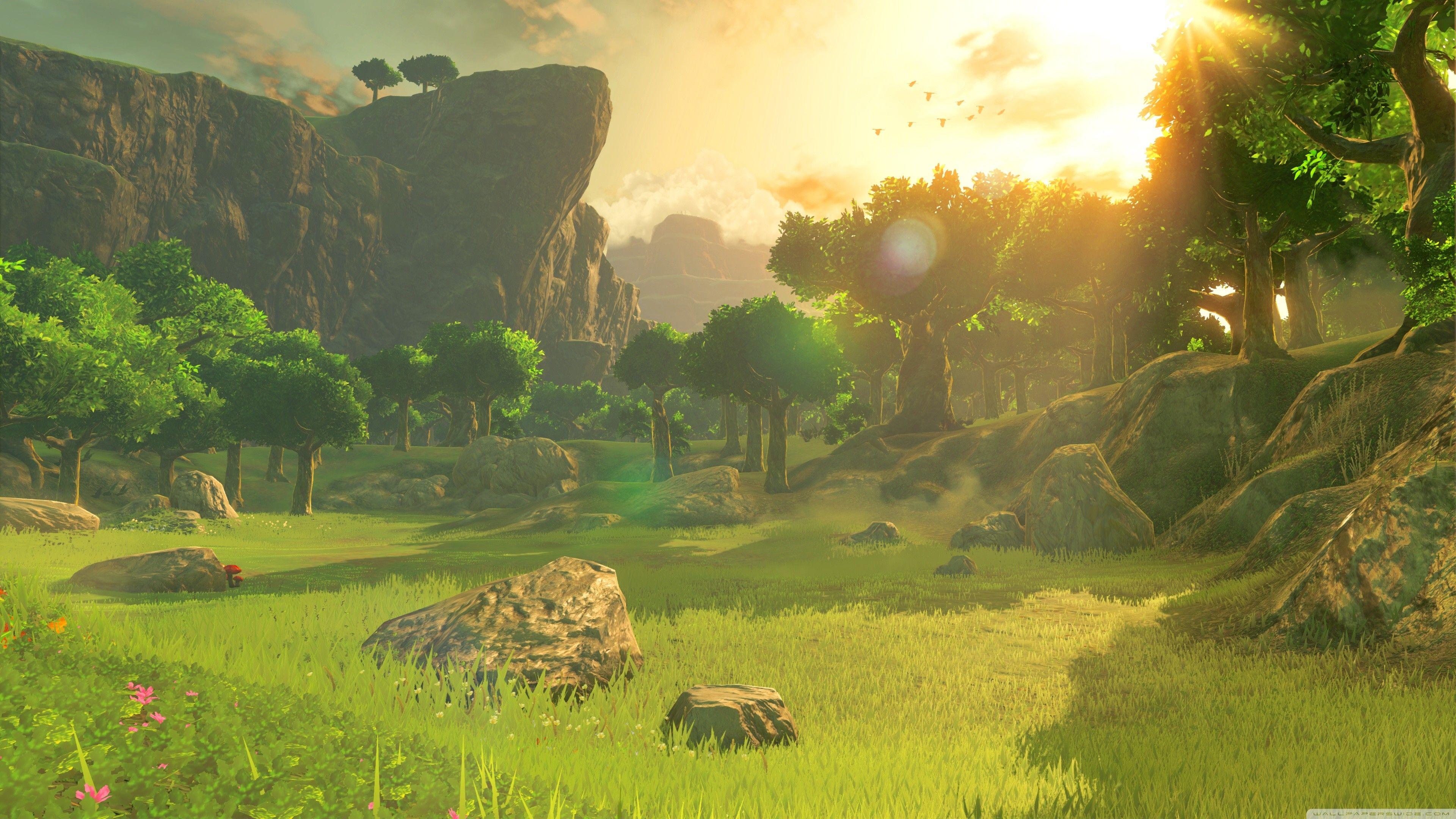 68 Zelda 4k Wallpapers On Wallpaperplay Anime Scenery Legend Of Zelda Breath Of The Wild