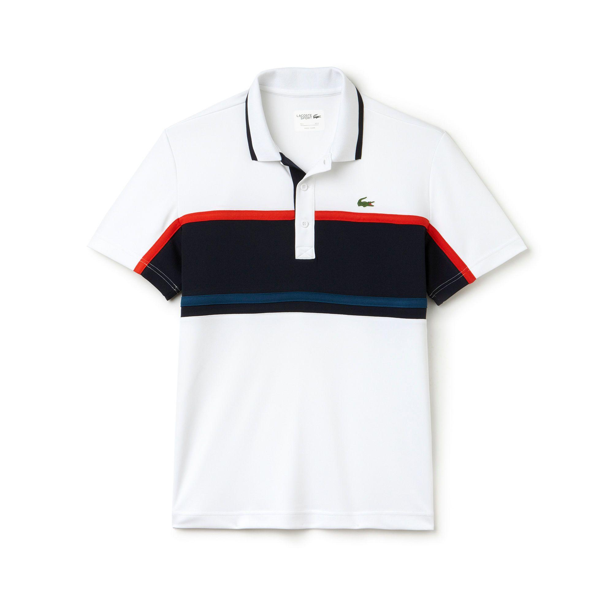 Herren-Polo aus Ultra-Dry-Gewebe mit Bruststreifen LACOSTE SPORT TENNIS… 9f32df2441