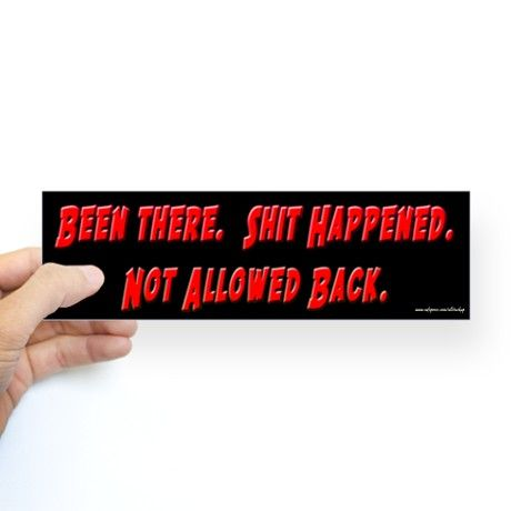Bumper bumper sticker on cafepress com