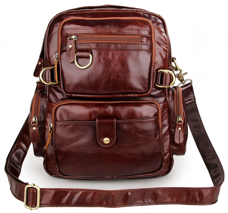 9b4dab6d3a 86.84  Buy now - http   alird9.worldwells.pw go.php t 575644489 - Cowboy  Vintage Real Leather Backpack Bookbag Schoolbag For Women Satchel Bag 7042C