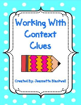 Context Clues Centers and Practice
