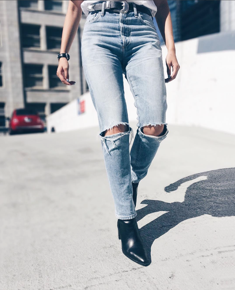 be3e0e1d1ef Liya High Rise Classic Fit Jeans In 2019 Street Style - Interior ...