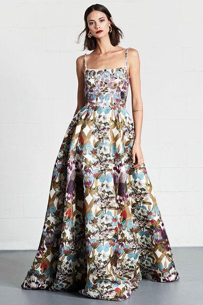 Dennis Basso, Resort 2018 - The Most Pinterest Worthy Dresses From Resort 2018 - Photos