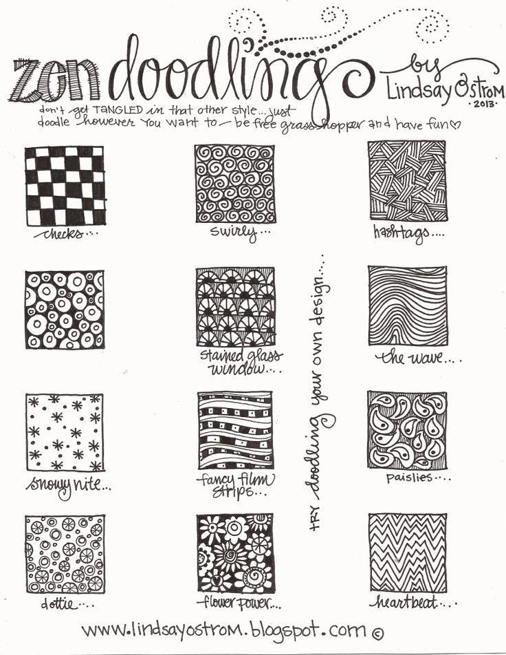 zentangle patterns step by step pdf