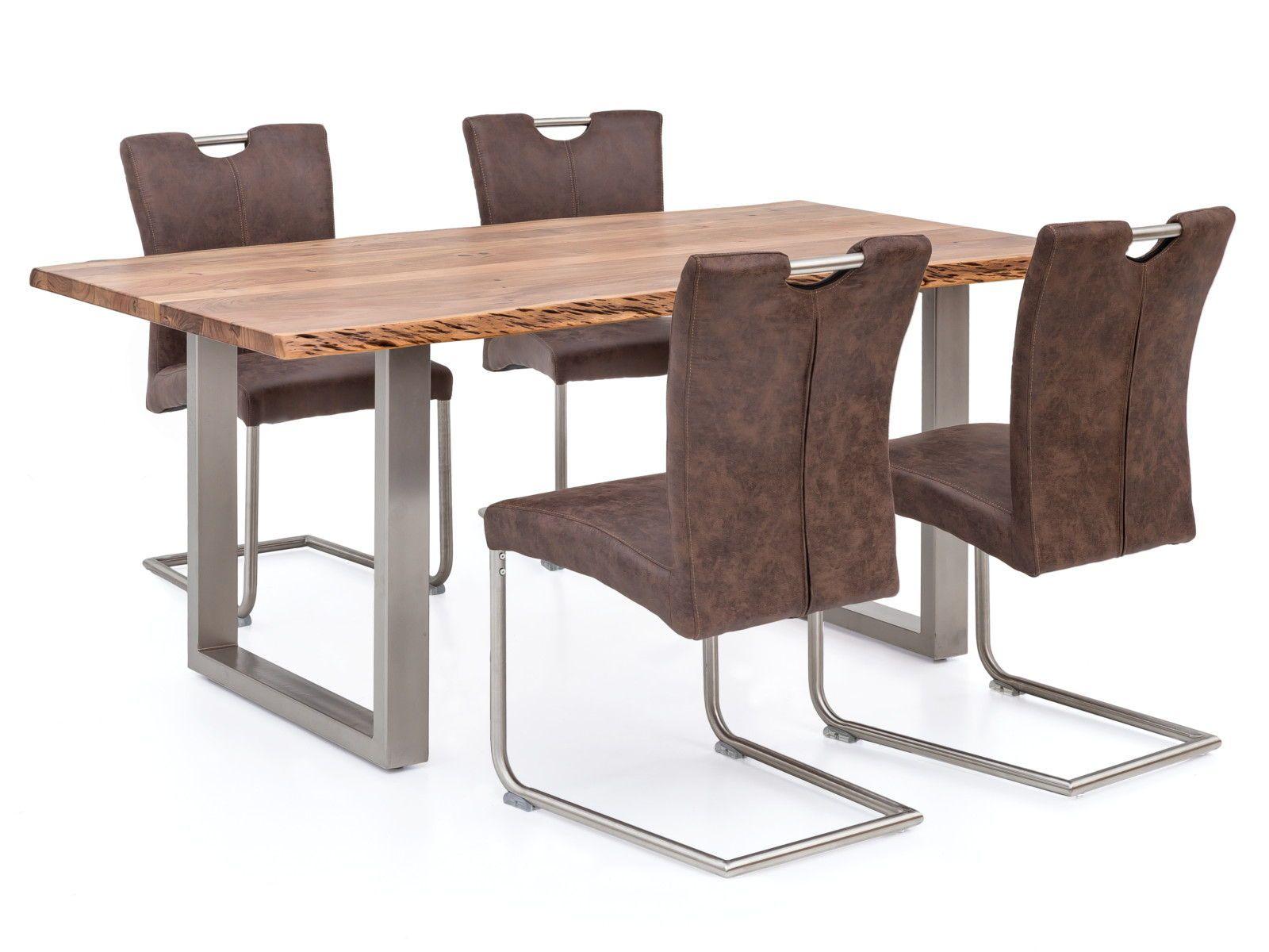 Esstisch Bullwer Mit 4 Stuhlen Reefton Holztisch Esszimmer