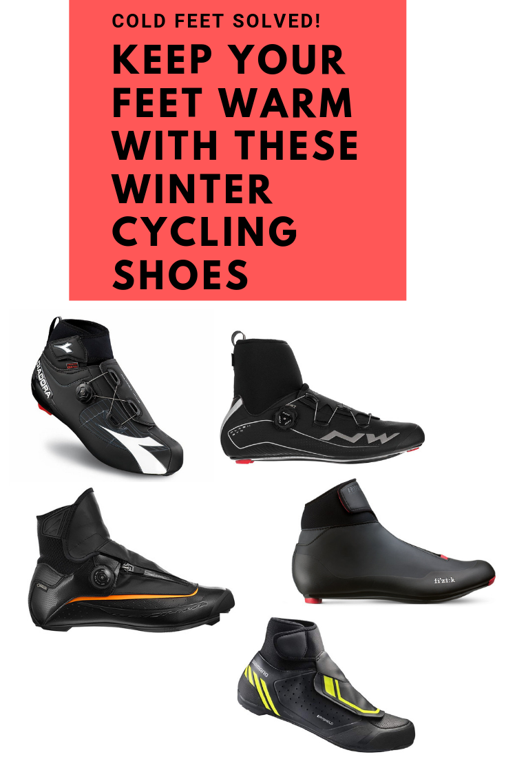 8c44233557c We cover the top brands of road and mountain biking shoes and boots to keep  your feet warm during winter bicycle riding.